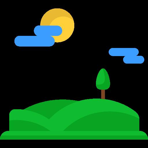 Hills, Trees, Mountan