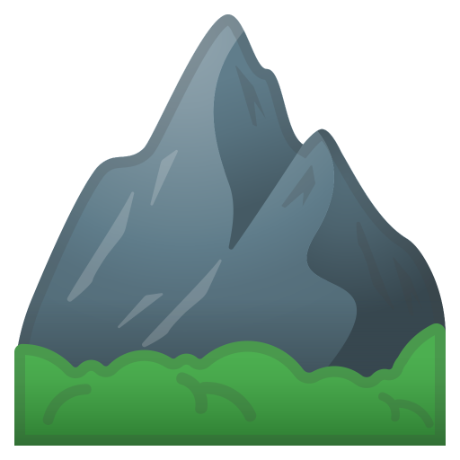 Mountan Noto Emoji Travel Places Iconset Google