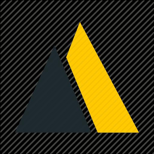 Mine, Mining, Mountain, Pyramid, Rock, Sand, Triangle Icon