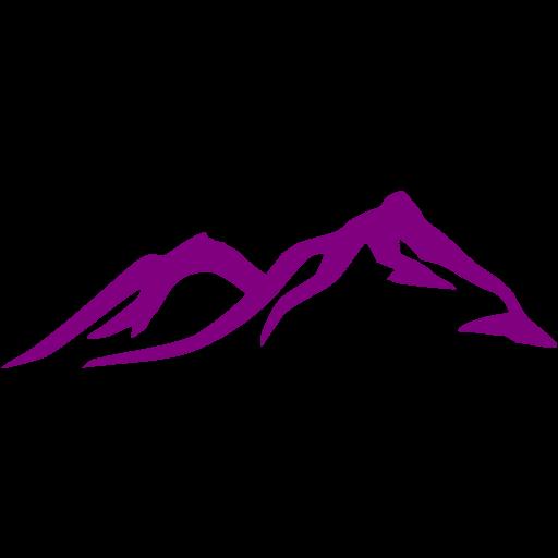 Purple Mountain Icon