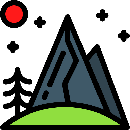 Mountain River Png Icon