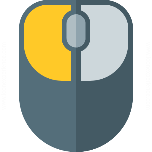 Iconexperience G Collection Mouse Left Button Icon