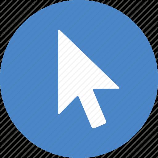 Arrow, Click, Clicking, Cursor, Mouse, Pointer, Url Icon