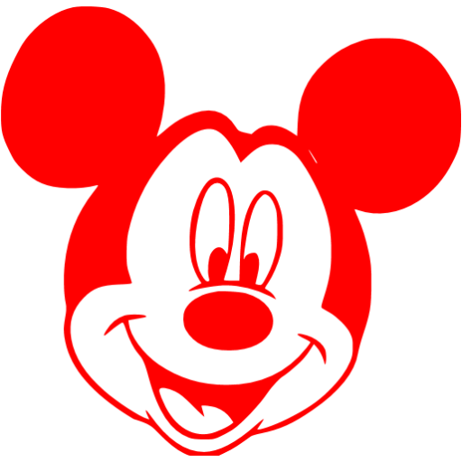 Mickey Mouse Icon Library