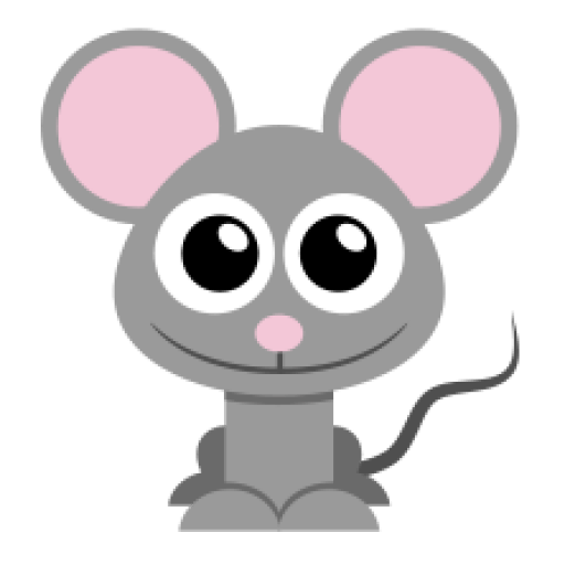 Cropped Mouse Icon The Stylish Mouse