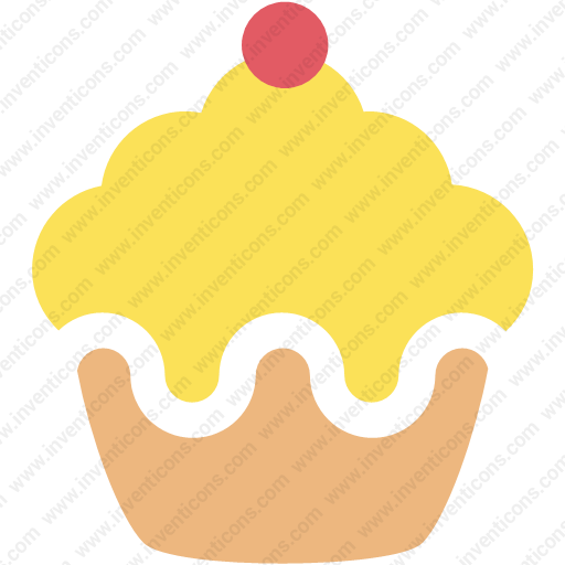 Download Cake,cup Cake,cupcake,muffn Inventicons