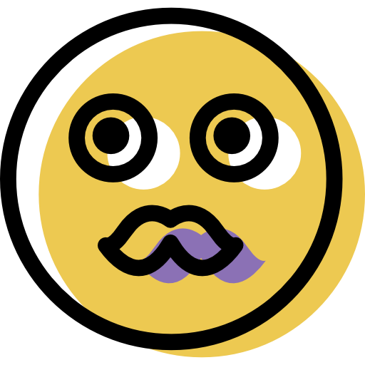 Moustache, Emoticon, Emo Icon Free Of Color Emoticons Assets