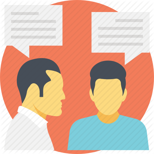 Communication, Gossip, Talking, Whisper, Word Of Mouth Icon