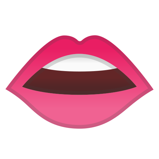 Mouth Icon Free Of Noto Emoji Clothing Objects