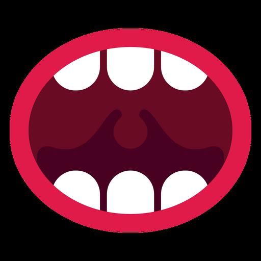 Open Mouth Icon