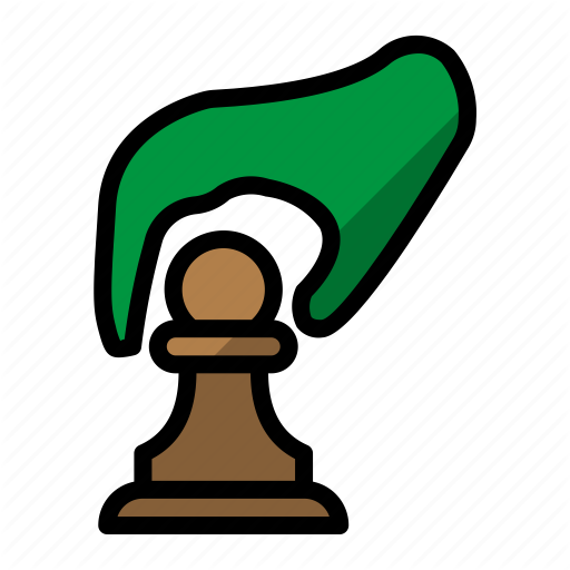 Chess, Game, Movement, Pawn, Piece Movement Icon