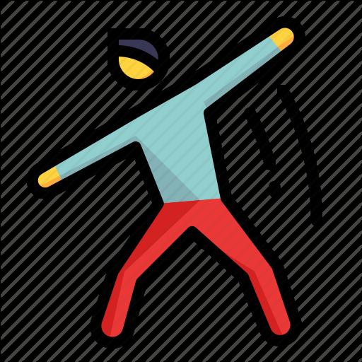 Dancing, Exercise, Hobby, Human, Movement Icon