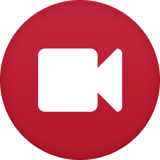 Video Camera Icon Circle Iconset