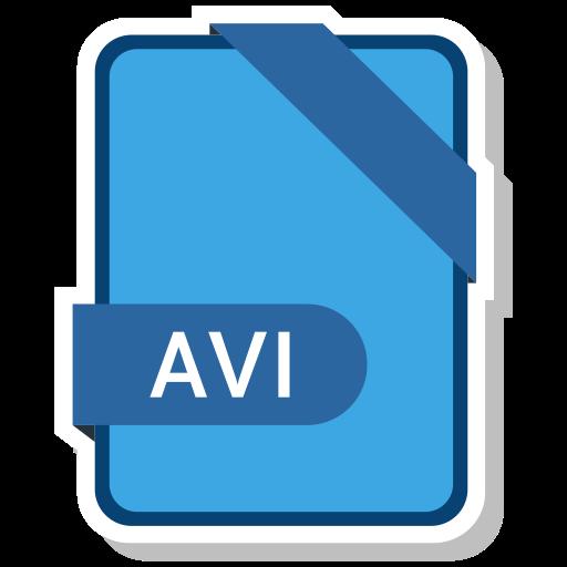 Avi, Film, Movie, File, Clip Icon
