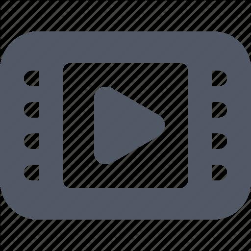 Clip, Entertainment, Film, Movie, Play, Tube, Video Icon