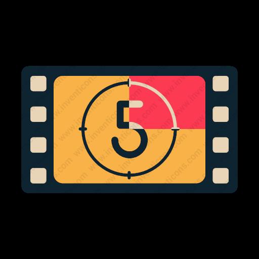 Download Film,countdown Icon Inventicons