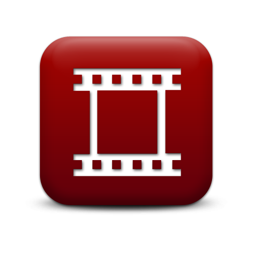 Red Movie Icon Images