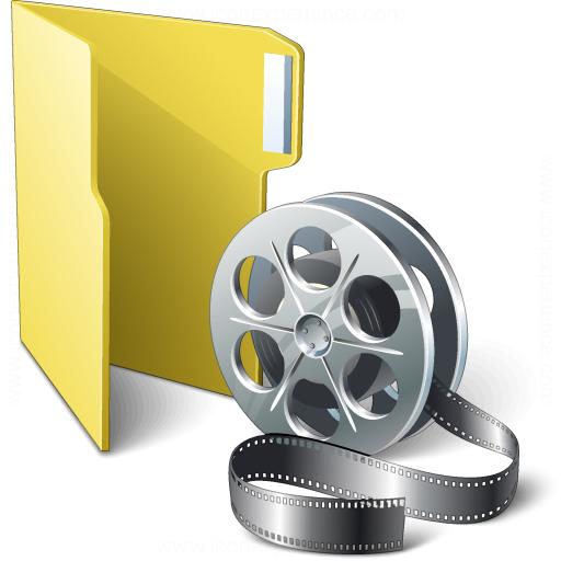 Iconexperience V Collection Folder Movie Icon