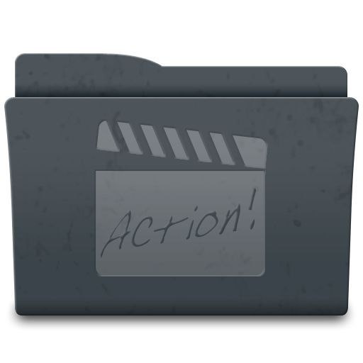 Movies Icons, Free Icons In Leox Graphite