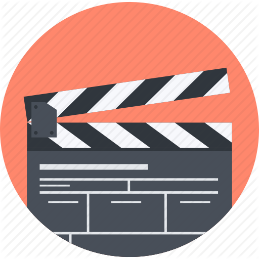 Action, Design, Movie, Process, Round Icon