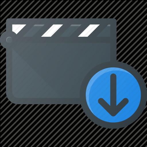Clapper, Clip, Cut, Download, Movie Icon