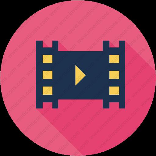 Download Multimedia,music,player,video,file,movie Icon Inventicons