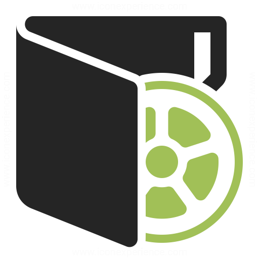 Folder Movie Icon Iconexperience