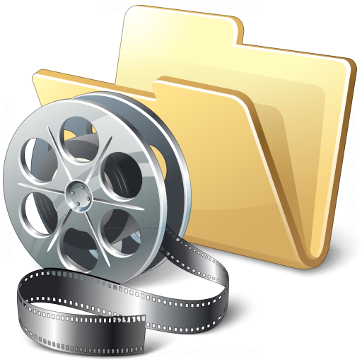 Iconexperience V Collection Folder Movie Icon