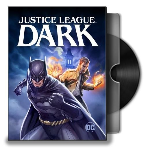 Justice League Dark Animated Movie Folder Icon