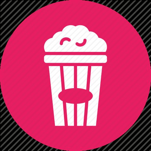 Cinema, Corn, Movie, Popcorn, Snack, Theatre Icon