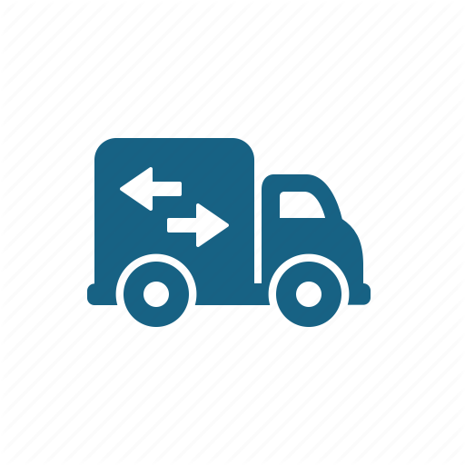Delivery Truck, Lorry, Moving, Truck Icon