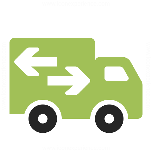 Moving Truck Icon Iconexperience