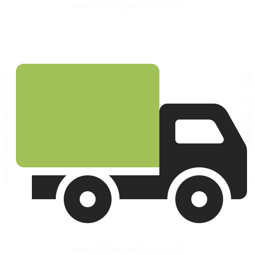 Small Truck Icon Iconexperience