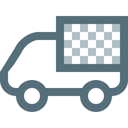 Logistics, Vehicle, Moving, Lorry, Cargo, Transport, Truck Icon