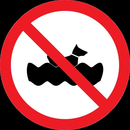 Animal, Dog, Forbidden, Prohibition Icon