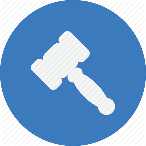Business, Finance, Hammer, Trade Icon