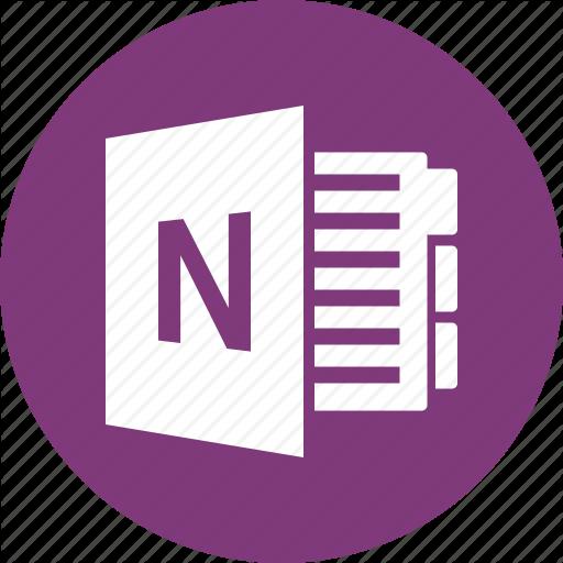 Document, File, Format, Microsoft, Onenote, Type Icon
