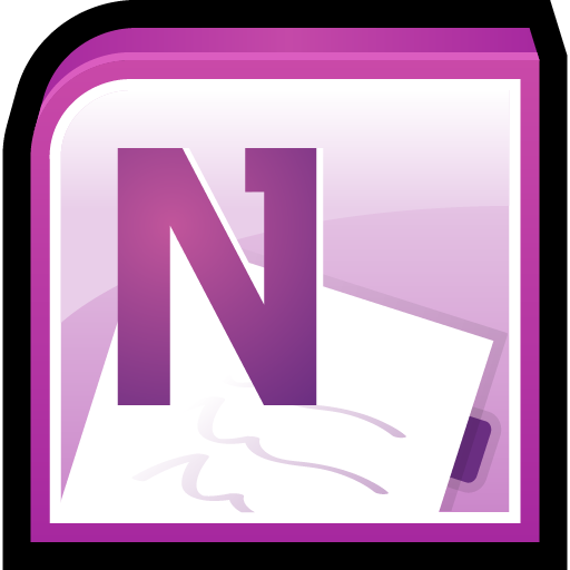 Microsoft, Note, Office, One, Software Icon