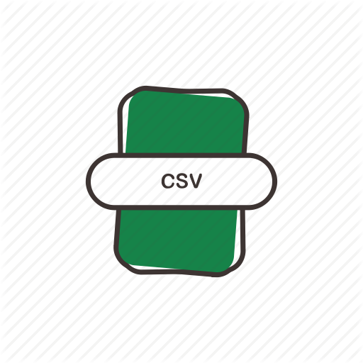Comma Separated, Csv, Doc, Excel, Extension, File, Ms Excel Icon