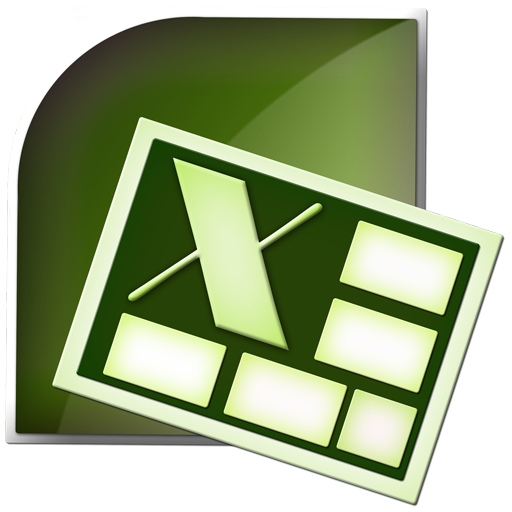 Office, Microsoft, Excel Icon