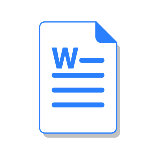 Doc, Word, Ms, File, Office Icon