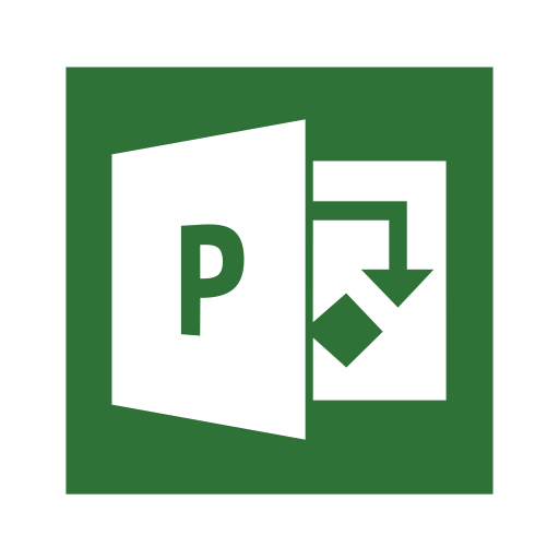 Microsoft, Office, Project, Online, Professional Icon Free