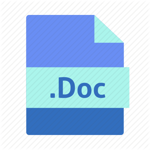 Doc, Document, Extension, File, Microsoft Word, Name Icon