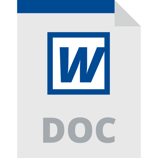 Word Document, Interface, Doc Format, Document, Doc Format
