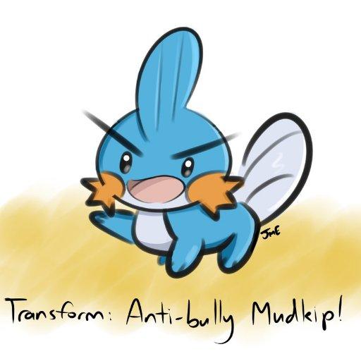 Anti Bully Ranger Mudkip