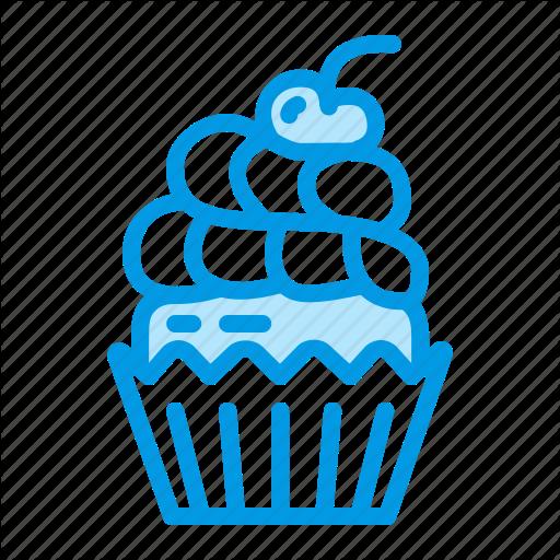 Birthday, Cupcake, Dessert, Food, Muffn