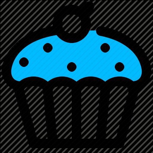 Cake, Cupcake, Dessert, Muffin, Sweet Icon