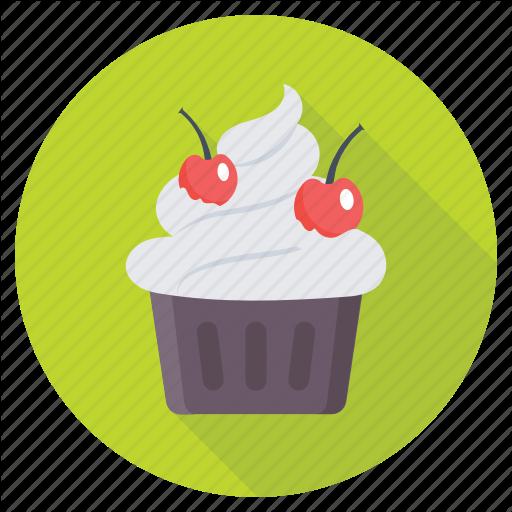 Cherry Cupcake, Cupcake, Dessert, Fairy Cake, Muffn