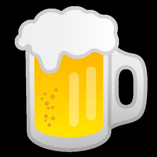 Beer Mug Icon Noto Emoji Food Drink Iconset Google
