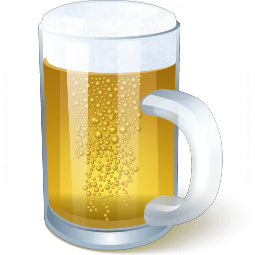Iconexperience V Collection Beer Mug Icon